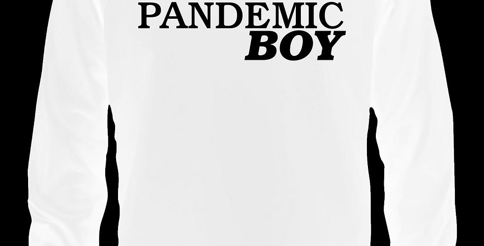 Pandemic Boy Trucker Hat (White)