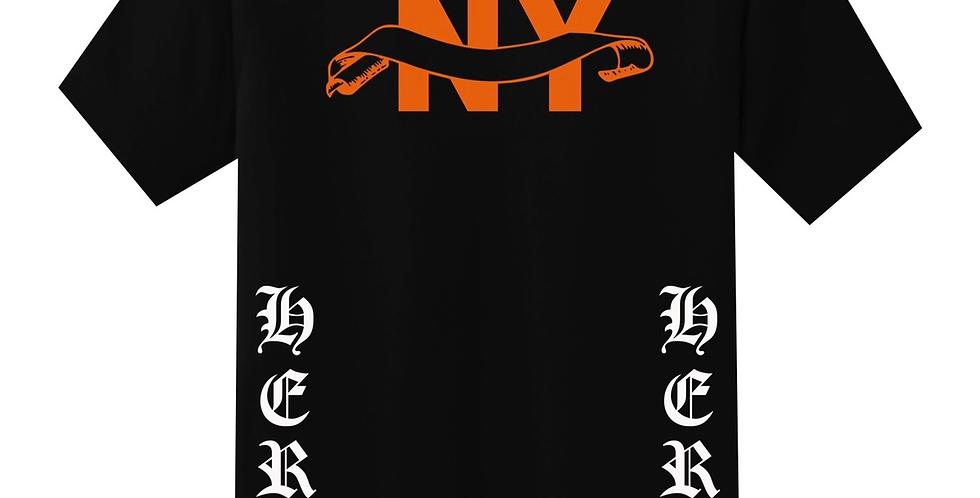 "Heron ""Old NY"" T-shirt (Black)"