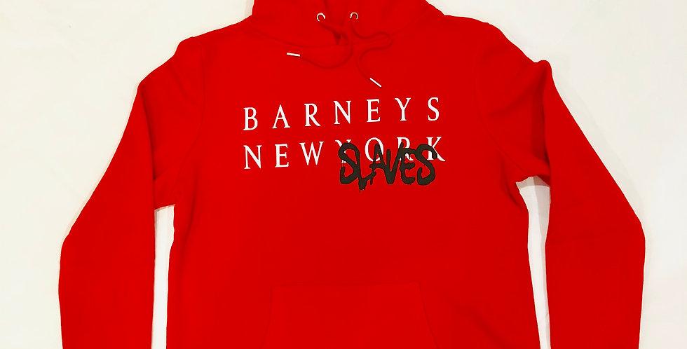 New Slaves hoodie (red)