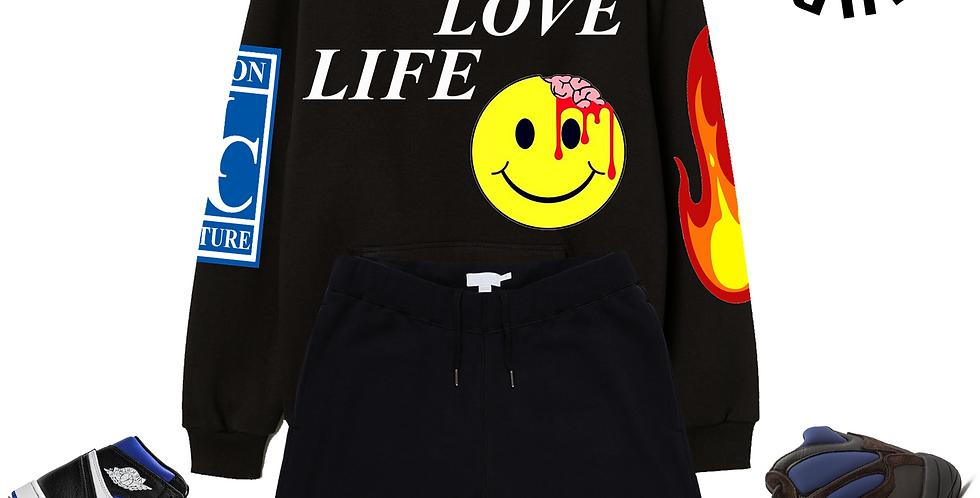Live & Love Life Hoodie (Black)