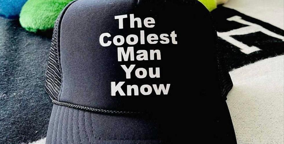 The Coolest Man Trucker (Black)