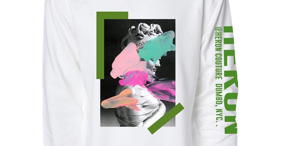 Spoiled Canvas Crew Neck Sweater (White)