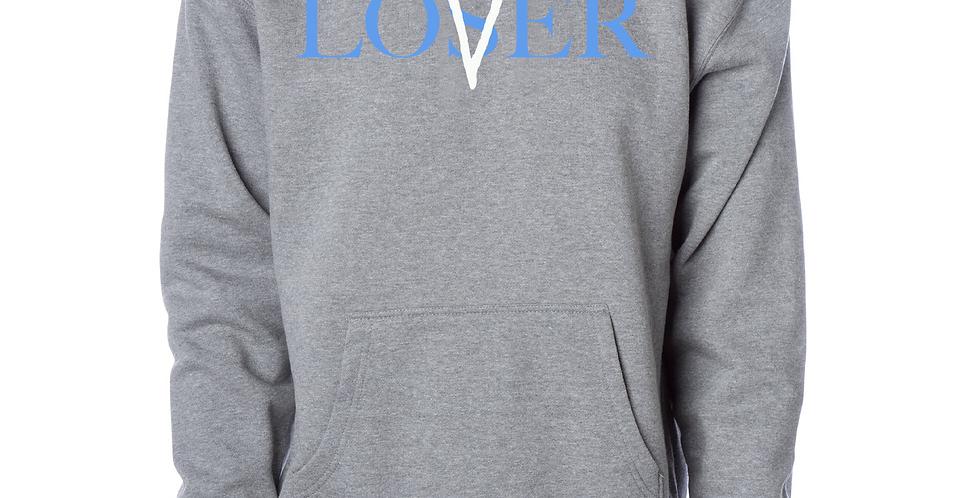 Lovers Vs losers Hoodie (Gray)