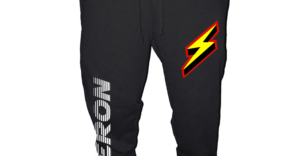 Thunder Bolt joggers (Black)