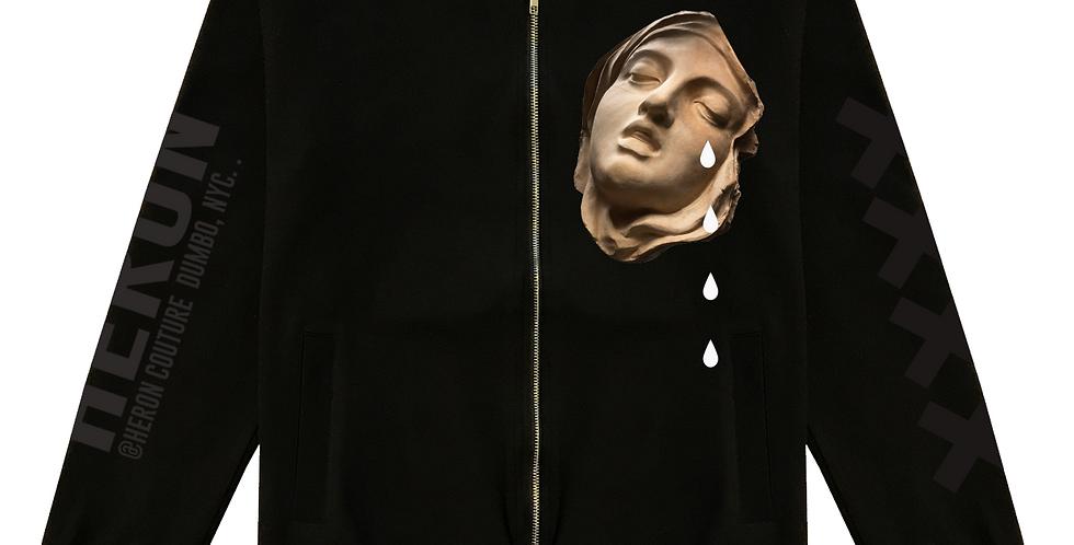 Tears of Joy Bomber Jacket (Black)