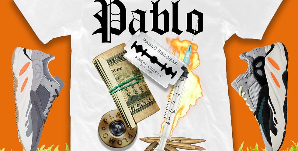 "Pablo ""on the run"" T-shirt"