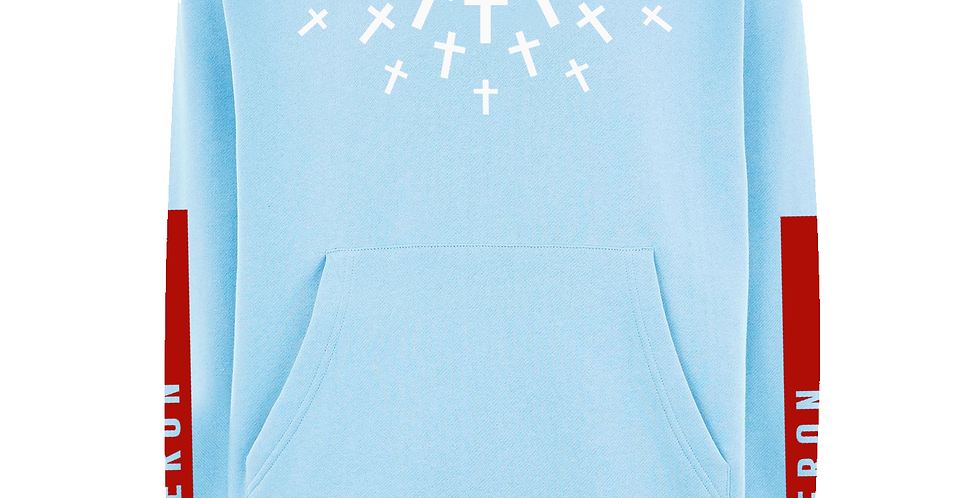 Protect Your Neck Hoodie (Baby Blue)