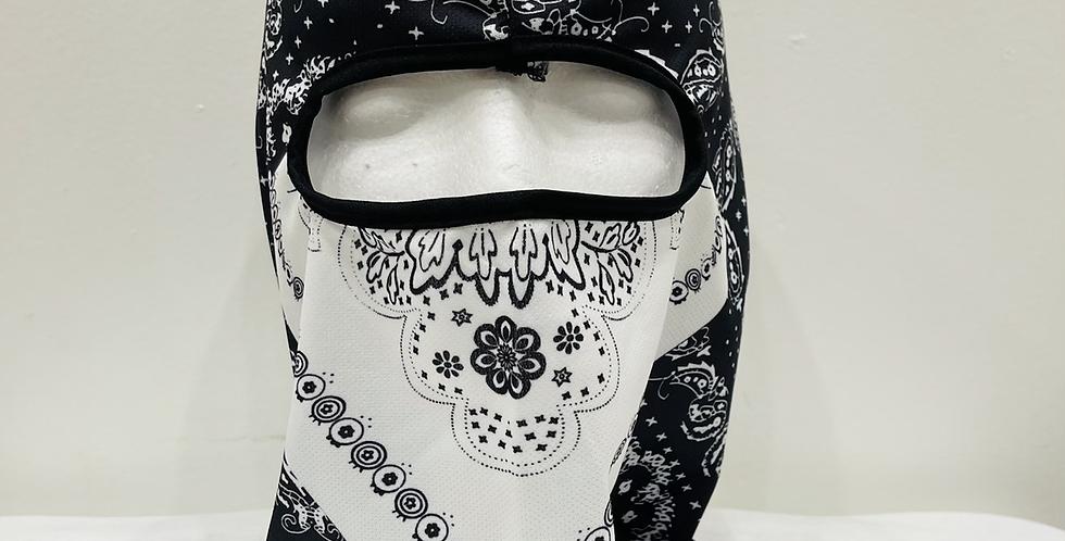 Paisley Mask (White)