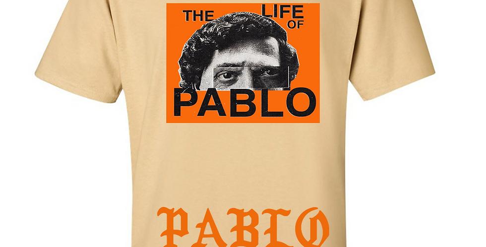 """Pablo """"Wanted"""" T-shirt (Tan)"""