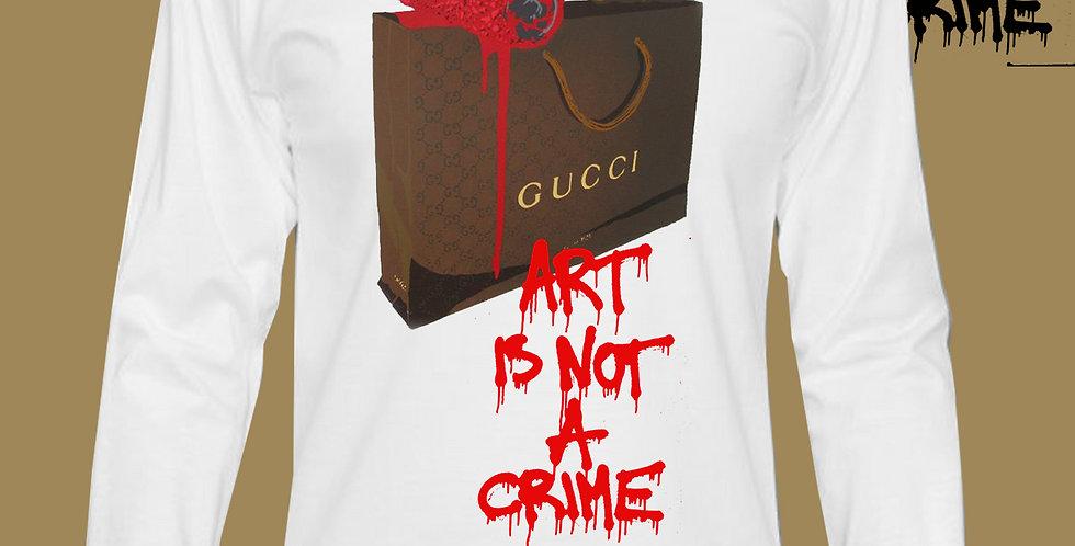 """Art Is Not A Crime """"GG"""" Top"""