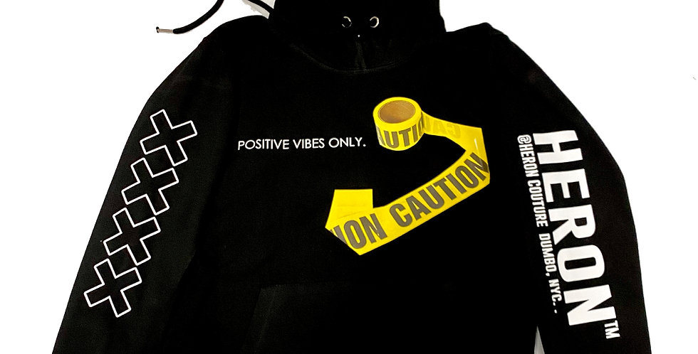Don't Kill My Vibes Hoodie (Black)
