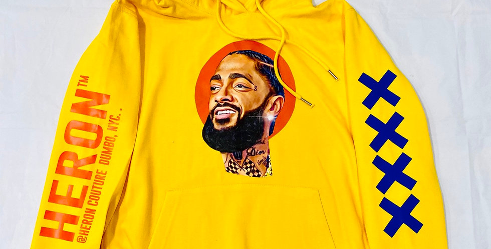 """The """"West side"""" Hoodie (Yellow)"""