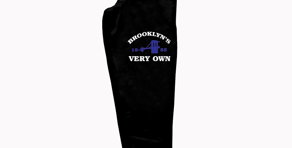 Brooklyn's Very Own Joggers (Black/Blue)