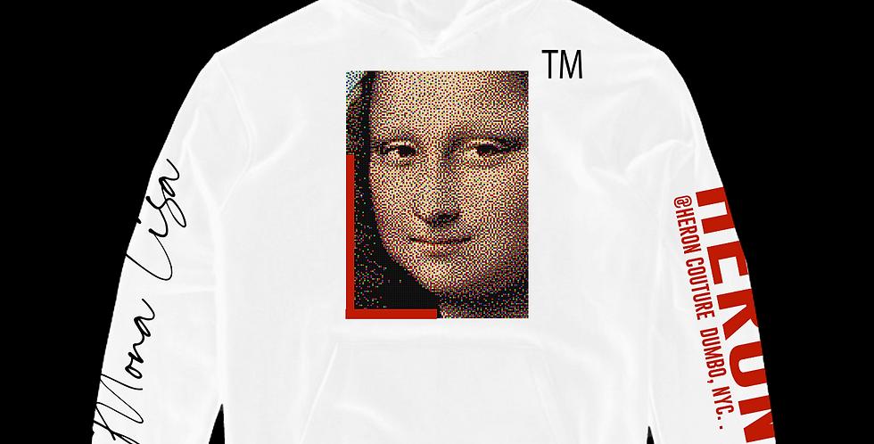 Mona Pixel hoodie (White)