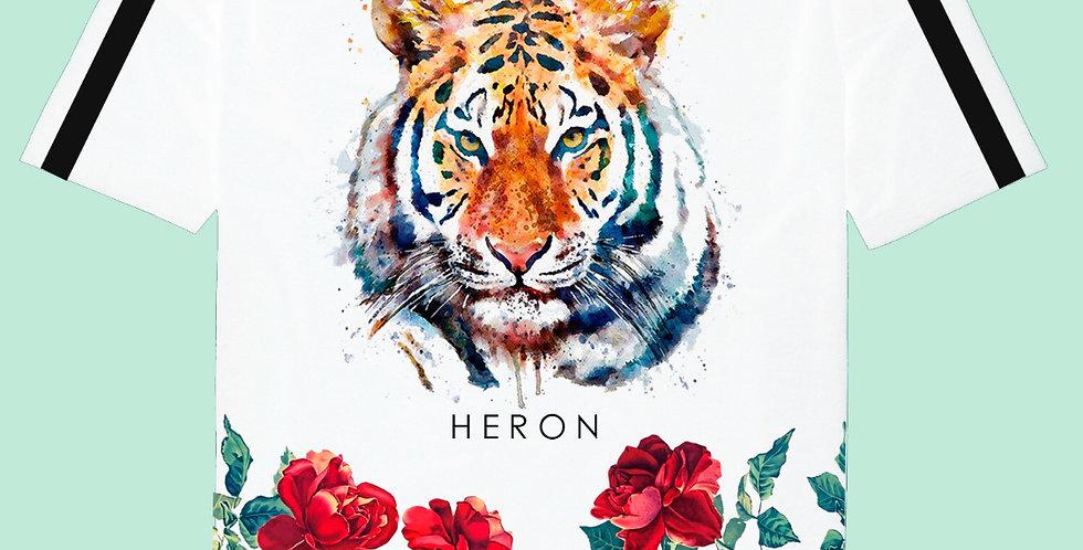 Tiger rose t-shirt