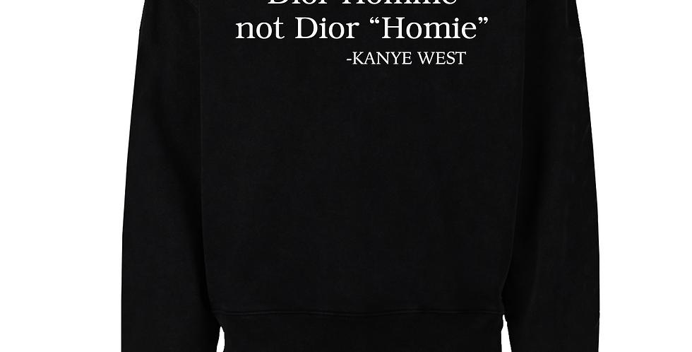 Homme Crew Neck Sweater (Black)