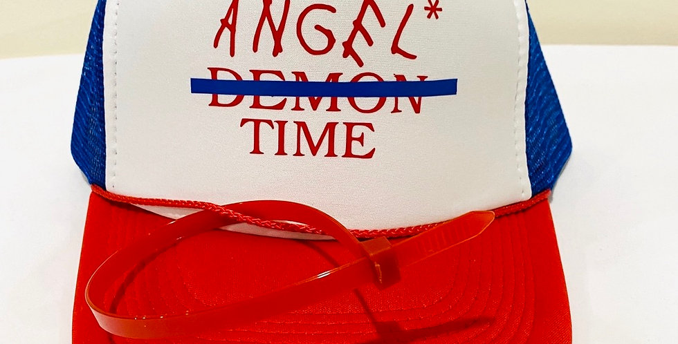 Angel Time Trucker Hat (AllStar)