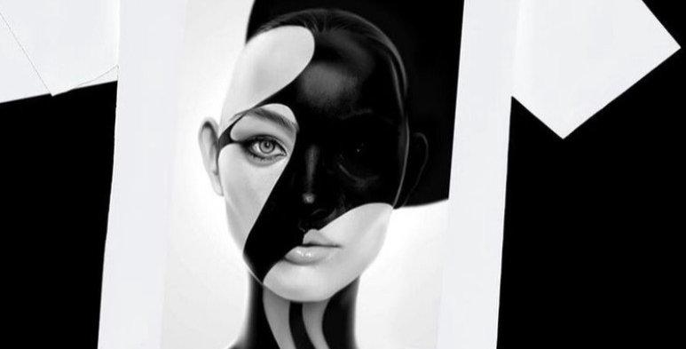 Masked Model T-shirt