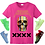 Thumbnail: All star Skull T-shirt (pink)