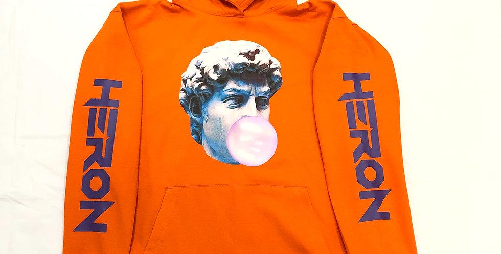 Pop art hoodie (orange)