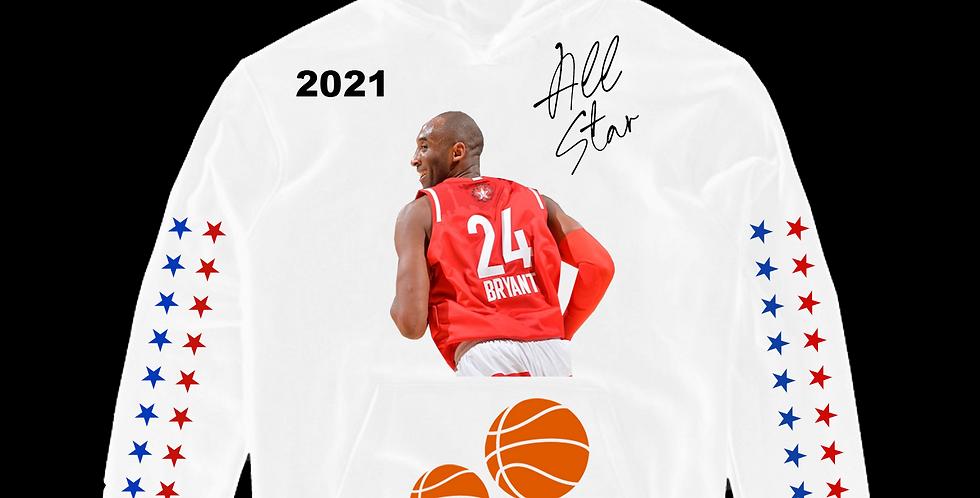 Forever Kobe All star Hoodie (White)