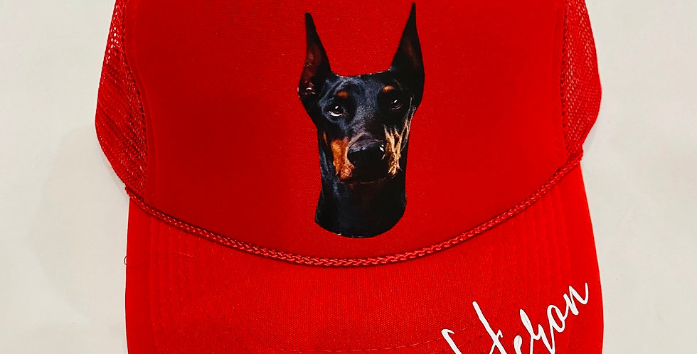 Guard dog tTrucker Hat (Red)