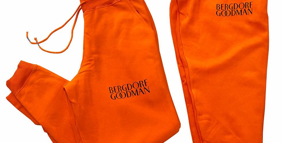 Bergdoff Joggers (Orange)