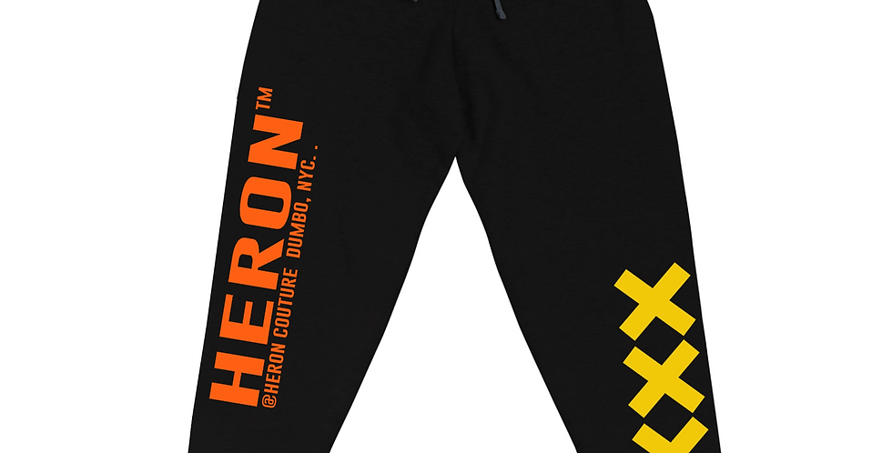 4th Strike Joggers (Black, Orange, Yellow)
