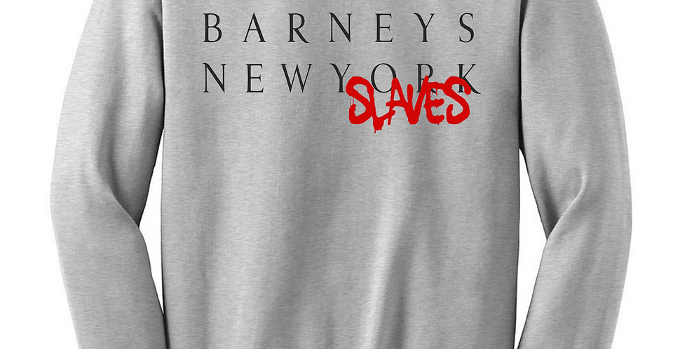 Barneys New Slaves Crew Neck (Gray)