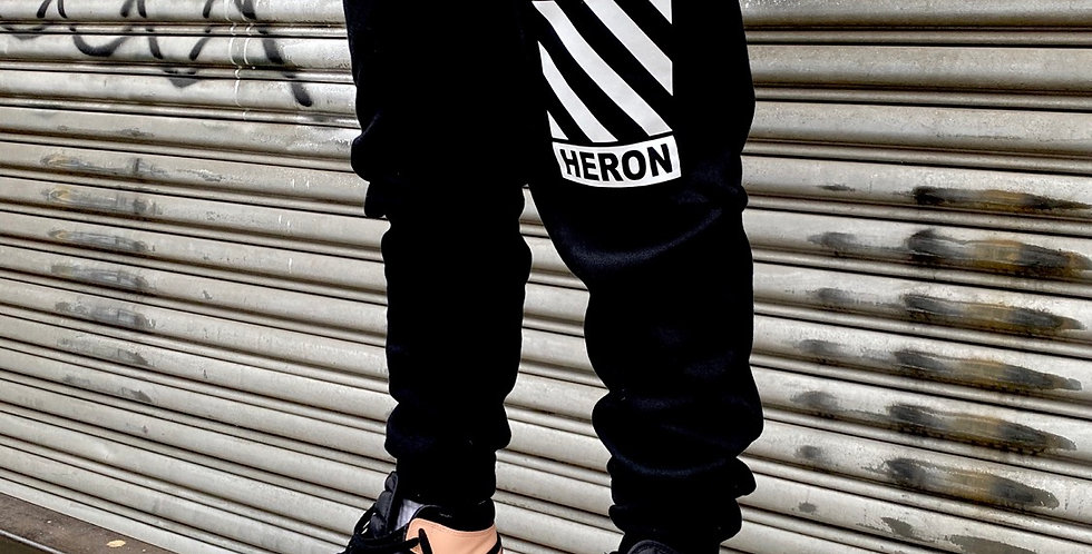 Safety Joggers (Black/White)