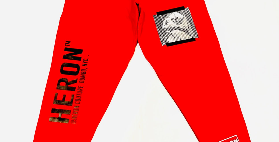 Exhale Joggers (Red)
