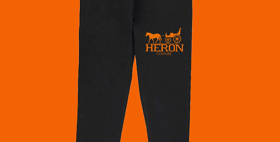"The Big ""H"" Joggers (Black)"