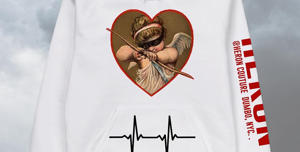 Stolen Heart Hoodie (White)