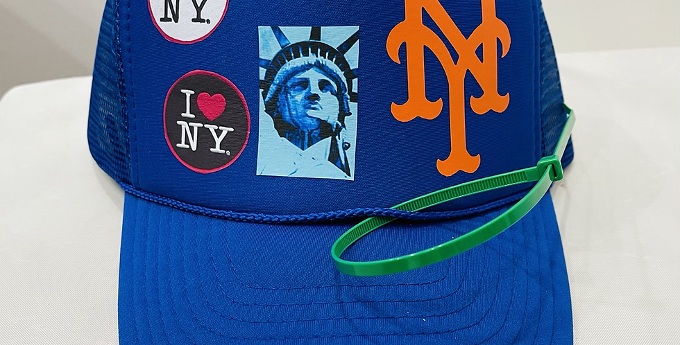 Coming To America Trucker Hat (Blue)