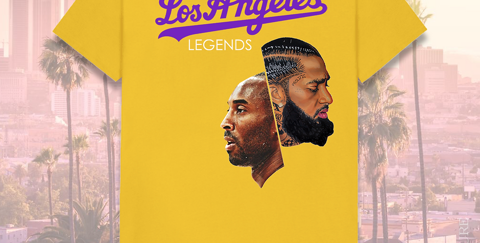 LA Legends T-shirt (Yellow)
