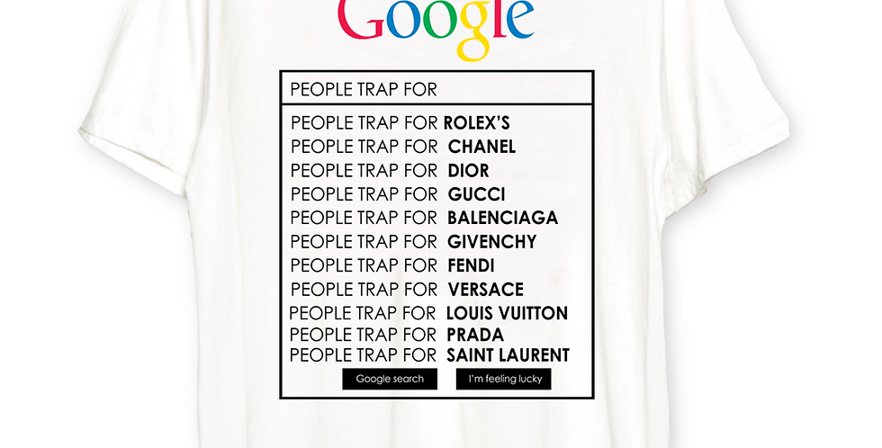 "Google ""Trap search"" T-shirt"