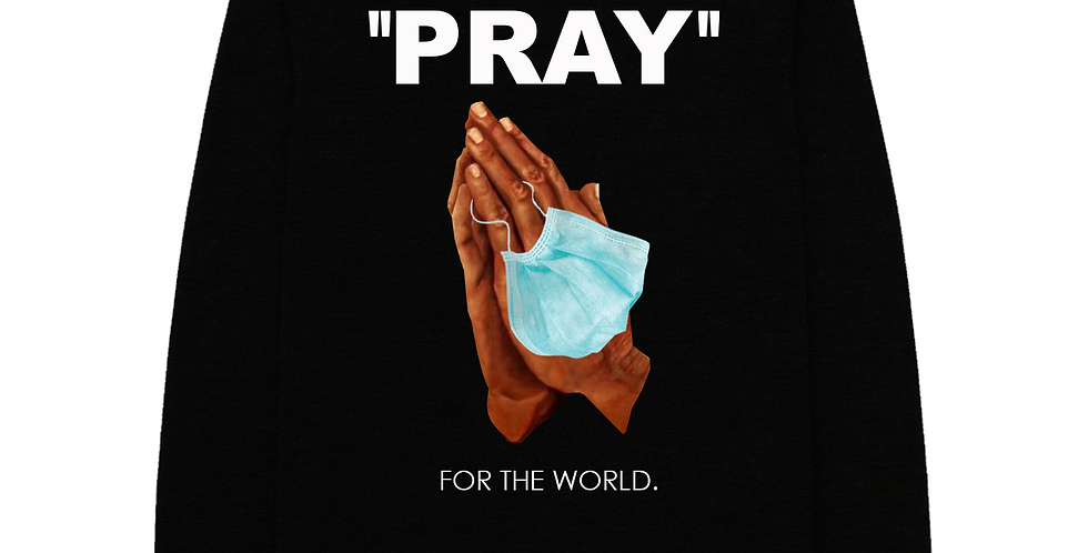 Pray For The world Sweater (Black)