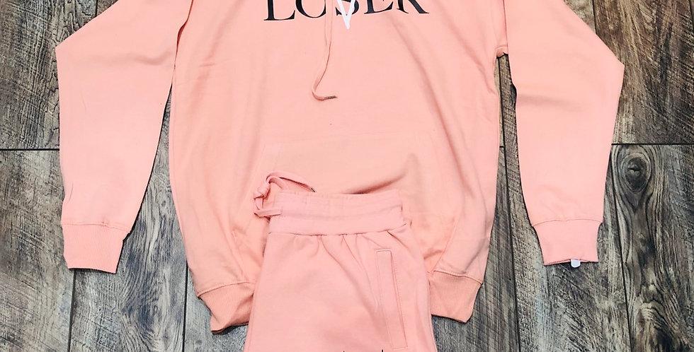Lovers vs losers (salmon) hoodie