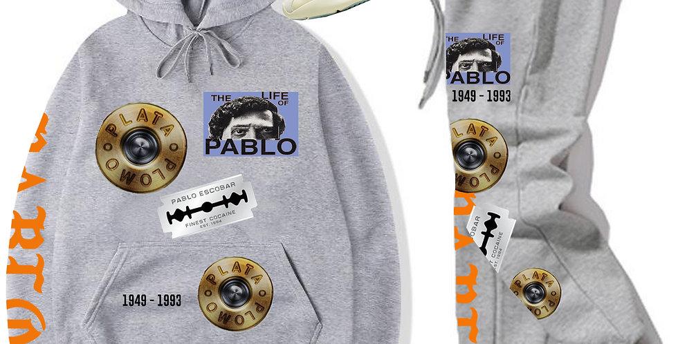 """Pablo """"Evidence"""" Hoodie (Gray)"""