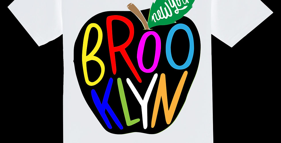 BIG APPLE BKLYN T-SHIRT