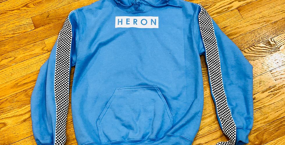 Finish line hoodie (Baby blue)