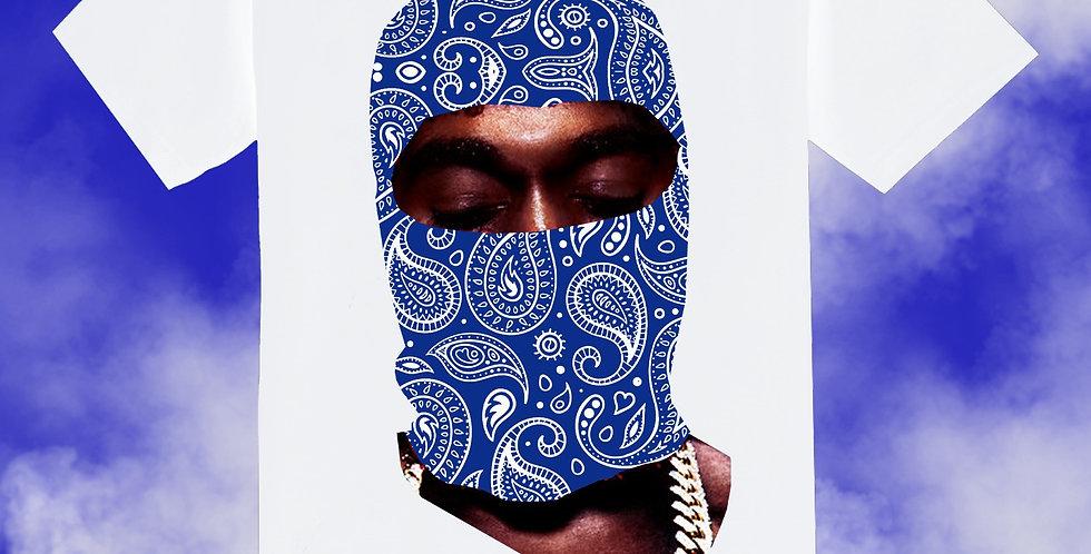 Paisley Ye T-shirt (Blue Mask)