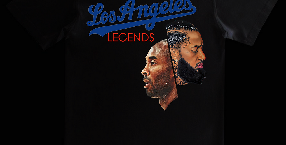 LA Legends T-shirt (Black)