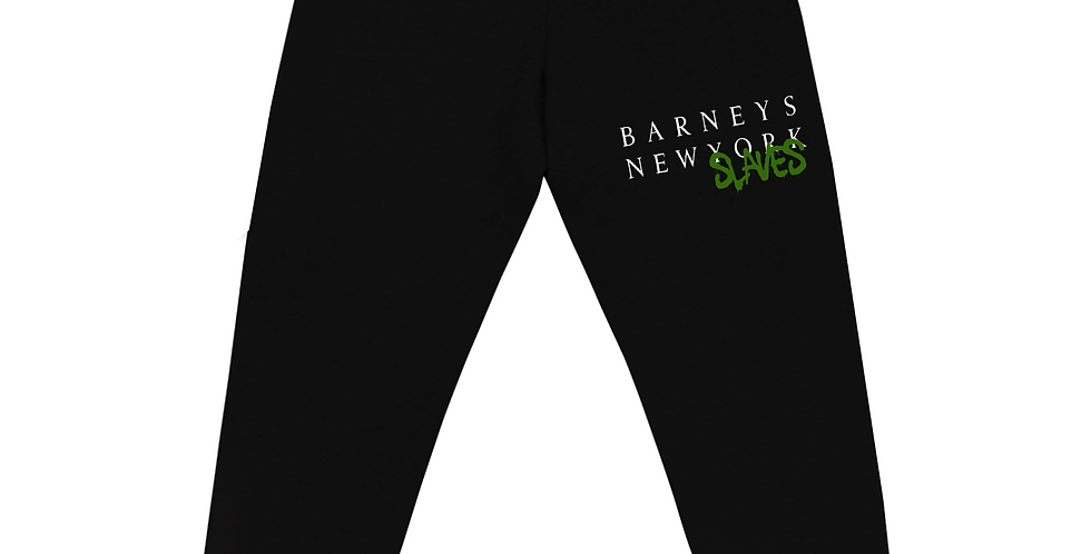 Barneys New slaves Joggers (Black/Green)