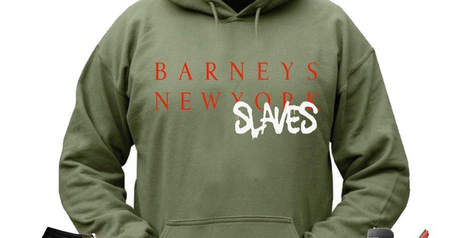 Barneys New Slaves hoodie (cactus)