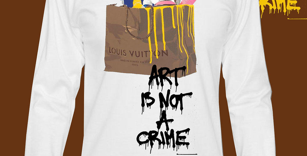 """Art Is Not A Crime """"LV"""" Top"""