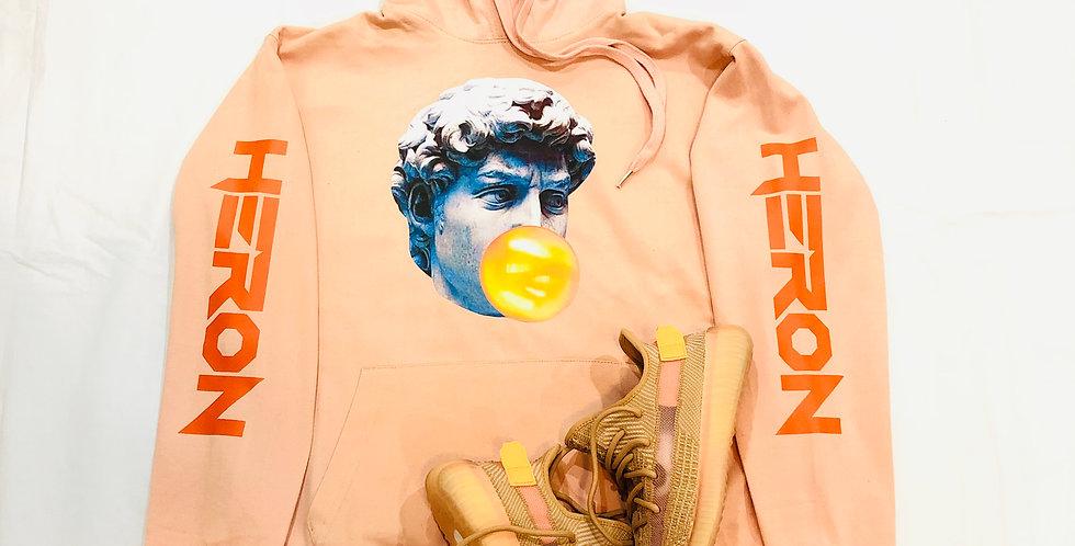 Pop art hoodie (clay)