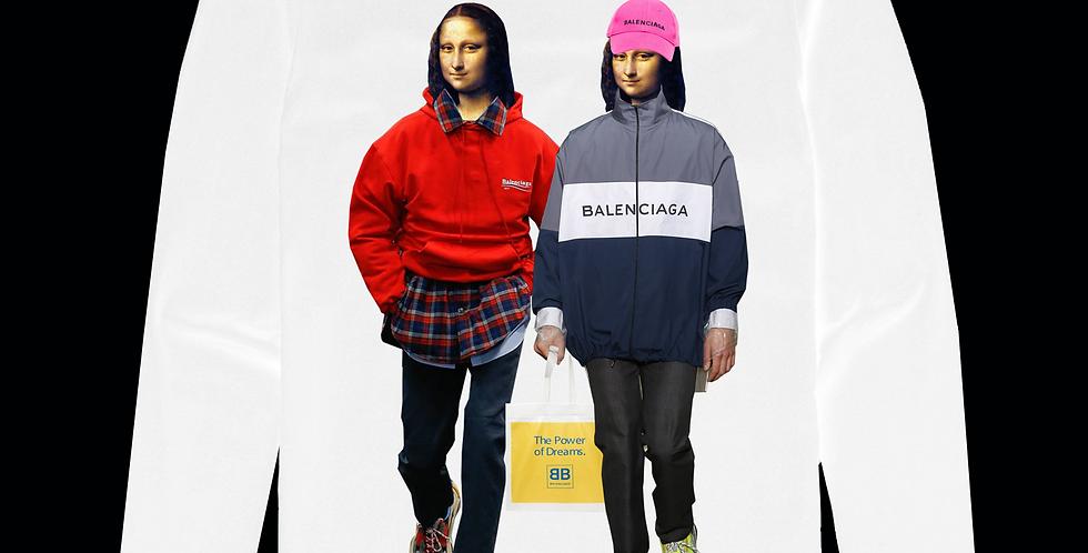 Balenciaga twins top