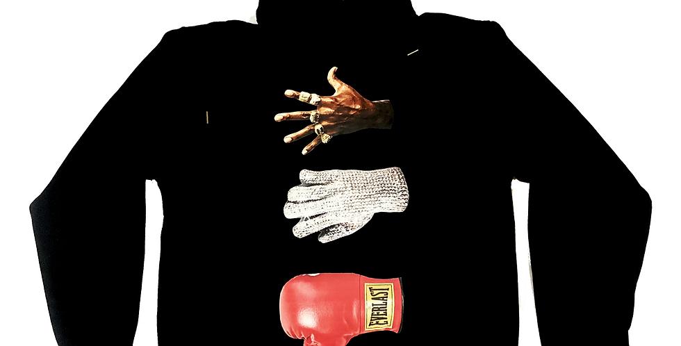 History hoodie (black)