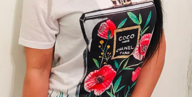 Coco black bottle t-shirt